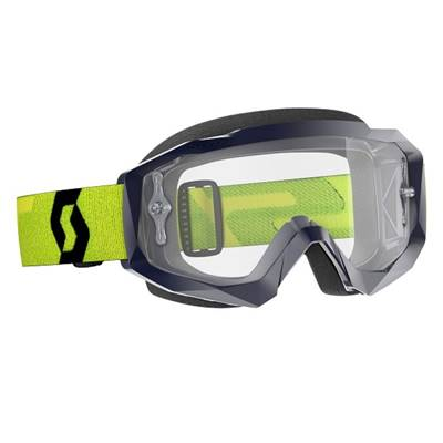 MASQUE SCOTT GOGGLE HUSTLE X MX JAUNE BLEU