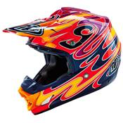 CASQUE TROY LEE DESIGNS SE3 REFLECTION ROUGE