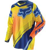 MAILLOT FOX RACING 360 FLIGHT JAUNE