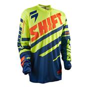 MAILLOT SHIFT ASSAULT RACE BLEU JAUNE