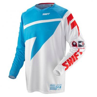 MAILLOT SHIFT CHAD REED REPLICA BLEU ROUGE