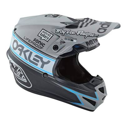 CASQUE TROY LEE DESIGNS SE4 POLYACRYLITE TEAM EDITION 2