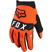 GANTS ENFANT FOX DIRTPAW 2021 ORANGE