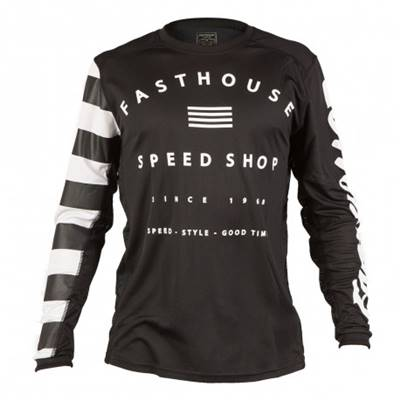 MAILLOT FASTHOUSE BIKE FASTLINE SPEED NOIR
