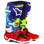 BOTTES ALPINESTARS TECH 10 LE RED BUD