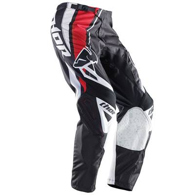 PANTALON THOR MX PHASE STRIPE ROUGE
