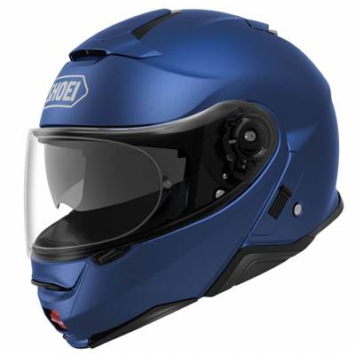 CASQUE SHOEI NEOTEC 2 BLEU MAT METAL