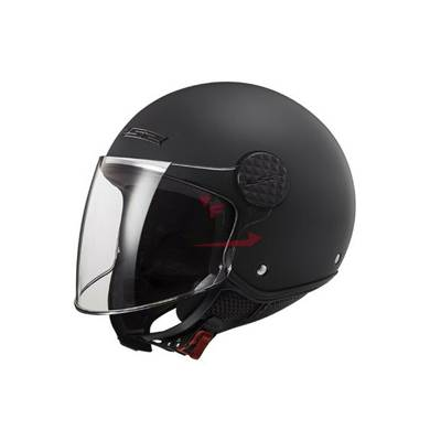 CASQUE LS2 OF558 SPHERE LUX NOIR MATT