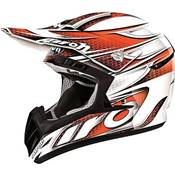 CASQUE AIROH CR901 LINEAR ORANGE
