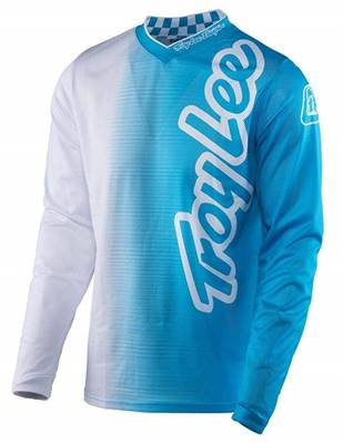 MAILLOT TROY LEE DESIGNS GP AIR 50/50 BLANC BLEU