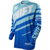 MAILLOT SHIFT ASSAULT RACE AQUA