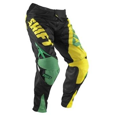 PANTALON SHIFT CHAD REED REPLICA ROUGE JAUNE