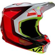 CASQUE FOX V2 VOKE ROUGE 2021
