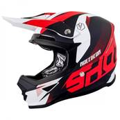 CASQUE SHOT FURIOUS ULTIMATE ROUGE MAT