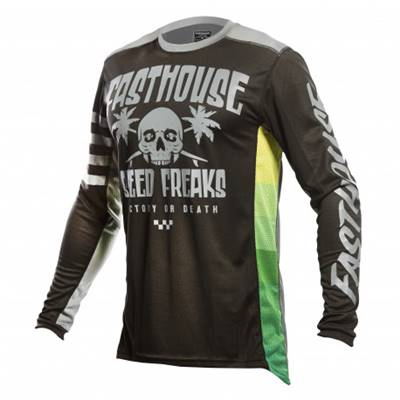 MAILLOT FASTHOUSE SWELL BLACK CHARCOAL