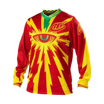 MAILLOT TROY LEE DESIGNS GP AIR CYCLOP ROUGE