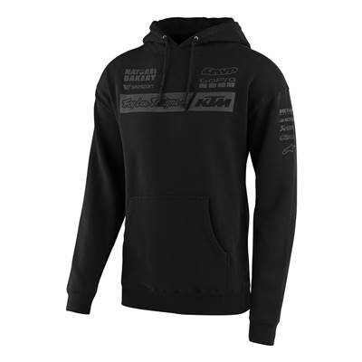 SWEAT TROY LEE DESIGNS KTM TEAM PULLOVER NOIR