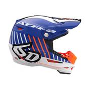 CASQUE 6D ATR2-MOTION ORANGE BLEU