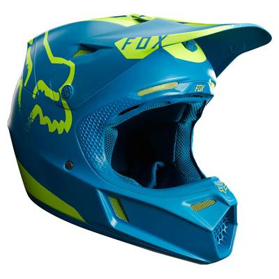 CASQUE FOX FLEXAIR V3 MOTH (TEAL)