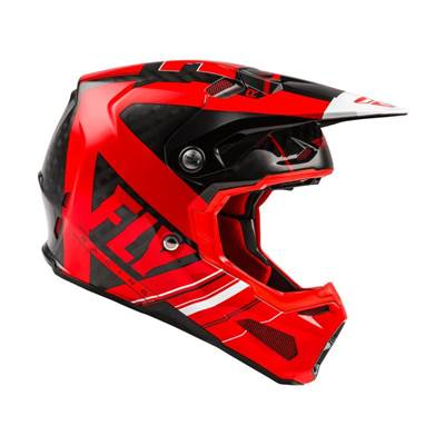 CASQUE FLY FORMULA VECTOR ROUGE BLANC NOIR