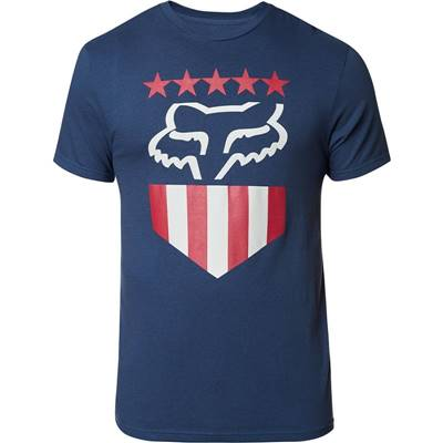 TEE-SHIRT FOX FREEDOM SHIELD SS TEE LT INDO