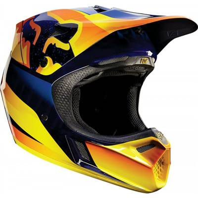 CASQUE FOX V3 FLIGHT ORANGE