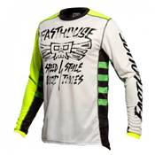 MAILLOT FASTHOUSE GRINDHOUSE TRIBE BLANC
