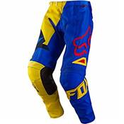 PANTALON FOX RACING 180 VANDAL JAUNE BLEU