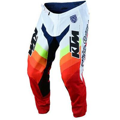 PANTALON TROY LEE DESIGNS SE PRO KTM MIRAGE BLANC ROUGE