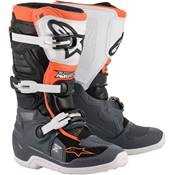 BOTTES ALPINESTARS TECH 7 S NOIR GRIS BLANC ORANGE