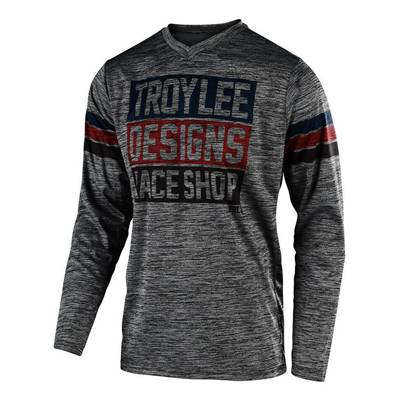 MAILLOT TROY LEE DESIGNS GP ELSINORE GRAY HEATHER