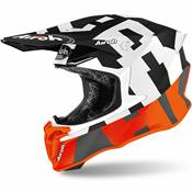 CASQUE AIROH TWIST 2,0 FRAME ORANGE MATT