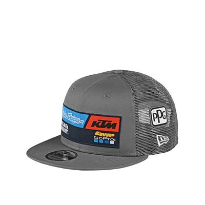 CASQUETTE TROY LEE DESIGNS TEAM KTM GRIS
