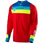 MAILLOT TROY LEE DESIGN CORSA ROUGE