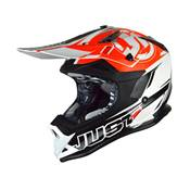 CASQUE JUST1 J32PRO RAVE NOIR ORANGE