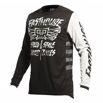 MAILLOT FASTHOUSE GRINDHOUSE TRIBE NOIR