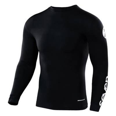 MAILLOT ENFANT SEVEN ZERO STAPLE COMPRESSION NOIR