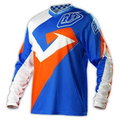 MAILLOT TROY LEE DESIGNS GP AIR VEGA BLEU ORANGE