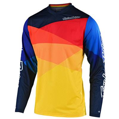 MAILLOT TROY LEE DESIGNS GP AIR JET JAUNE ORANGE